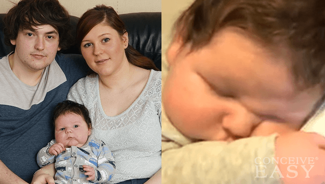 British mom gives birth to a 15-pound, 7-ounce baby - Naturally