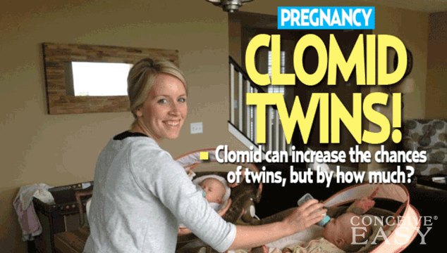 What are the best days to take clomid to conceive twins