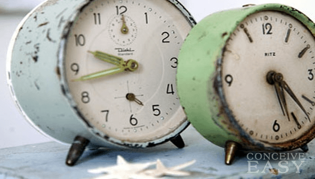 health article female fertility clock starts ticking