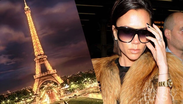 Victoria Beckham Takes on Paris With Her Brood