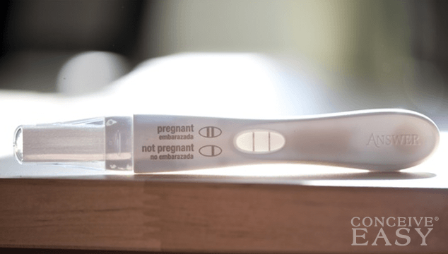 Sex prior to a pregnancy test