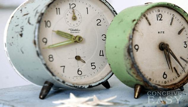 Female Fertility Clock Ticking