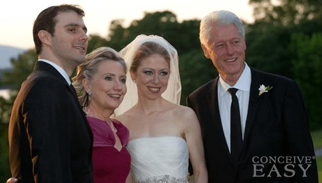 Chelsea Clinton- IVF Twins?