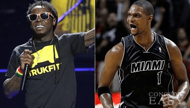 Chris Bosh's Wife Adrienne Scammed Lil Wayne Out of Thousands