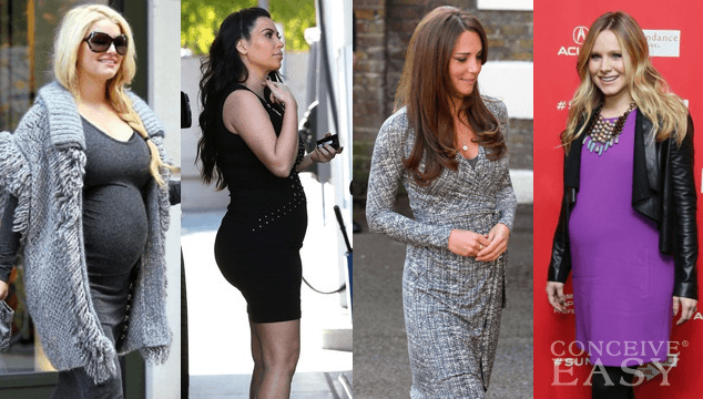 Comparing Celebrity Baby Bumps