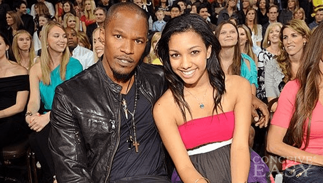 Jamie Foxx and His Daughters