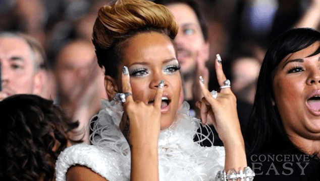 Rihanna Finally Confirms Whether or Not Chris Brown Put a $2 Million Ring On It at The Grammy's