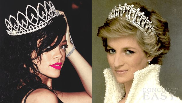 "Is Rihanna ""The New Princess Diana""?"
