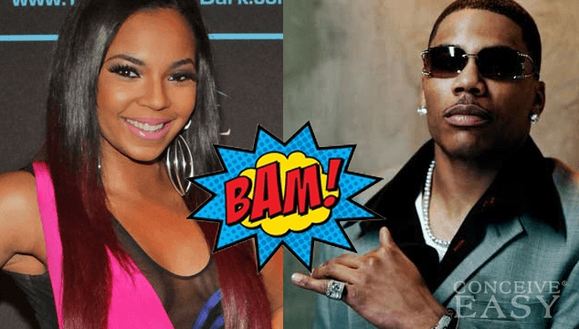 Ashanti Denies Ever Being Nelly's Official Girl
