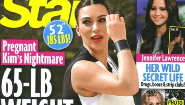 Kim Kardashian Reveals Her True Pregnancy Weight Gain