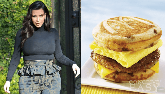 Kim Kardashian's Latest Unhealthy Pregnancy Craving: McGriddle from McDonalds?