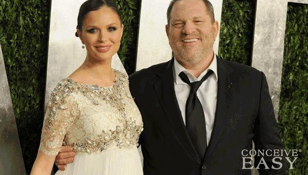 Harvey Weinstein 61 Welcomes First Son