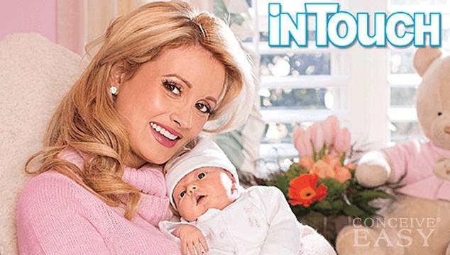 Holly Madison's New Baby Rainbow