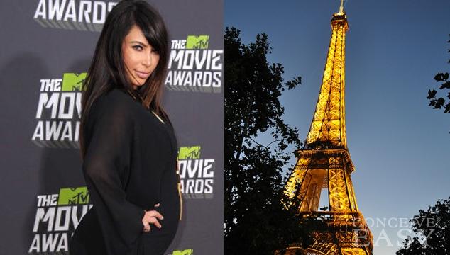 Kim Kardashian Giving Birth in Paris?