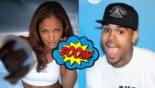 Laila Ali Says She Could Whoop Chris Brown