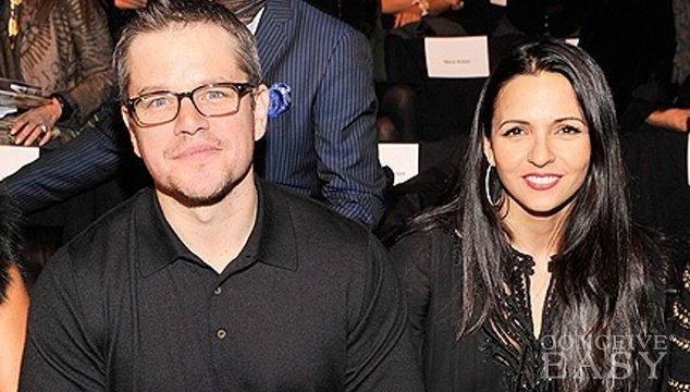 Matt Damon and Wife Luciana Renew Vows