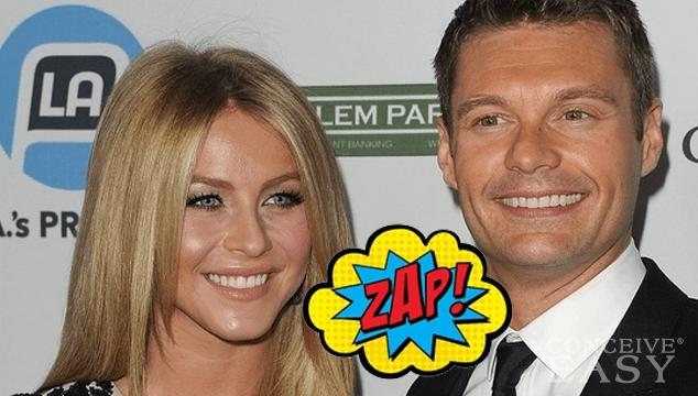 Ryan Seacrest Splits with Julianne Hough