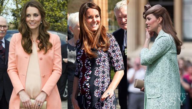 Kate Middleton Ranked Best Dressed Pregnant Celeb