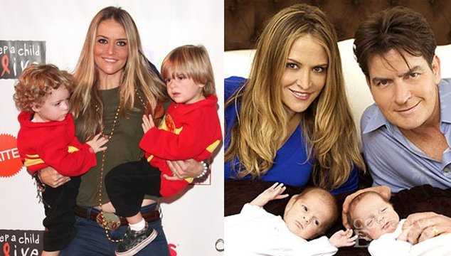 Brooke Mueller's Twins With Charlie Sheen Taken Away