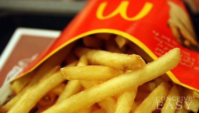 Trans Fats May Increase Infertility Issues