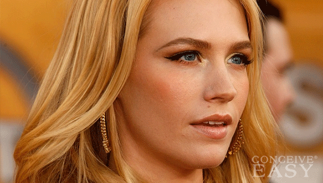 January Jones Talks About Son Xander's Paternity