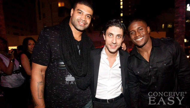 Reggie Bush Parties in Vegas Three Weeks after Baby's Birth