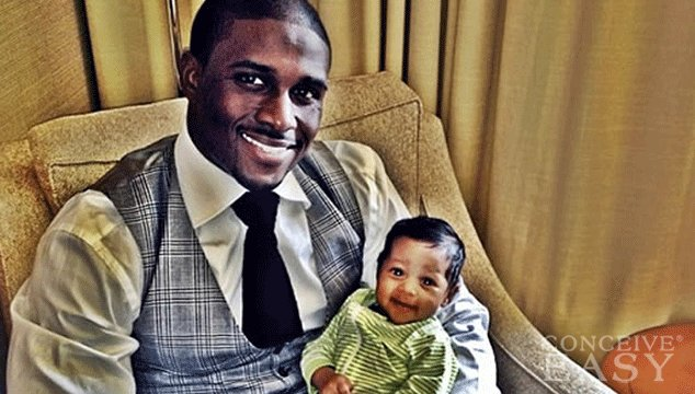 Reggie Bush Introduces Baby Daughter Briseis in Instagram Photo