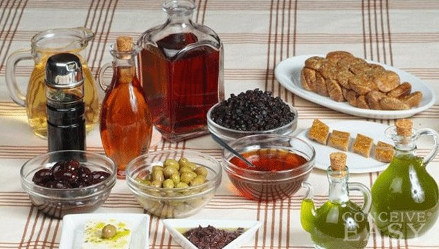 Mediterranean Diet May Improve Fertility