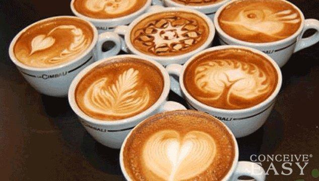 risks of caffeine before pregnancy conception