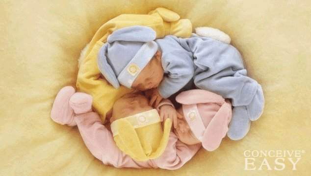 California Couple's Triplets Conceived With No Fertility Treatments
