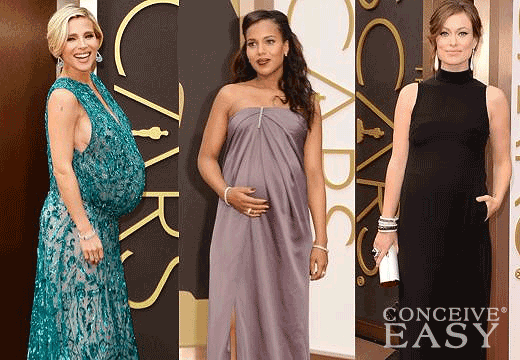 Olivia Wilde, Kerry Washington, Elsa Pataky Sport Baby Bumps at Oscars