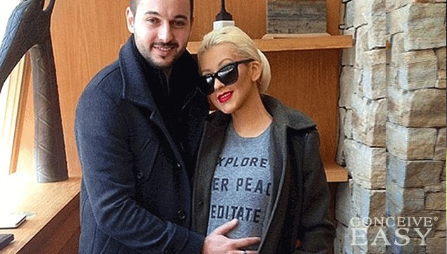Christina Aguilera Reveals Barely-There Baby Bump For the First Time After Pregnancy Announcements