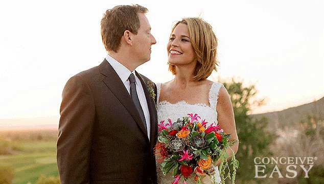 Savannah Guthrie Got Married and Pregnant