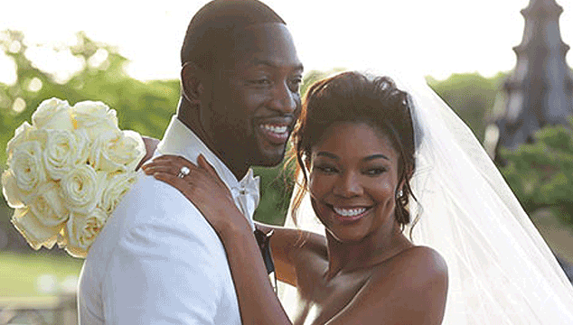 Gabrielle Union Just Married to Dwyane Wade