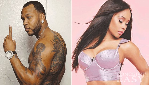 Flo-Rida's Golddigging Baby Mama Proves He is the Father