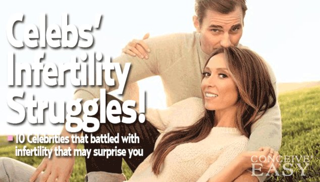 10 Celebrities Who Admitted They Faced Fertility Problems