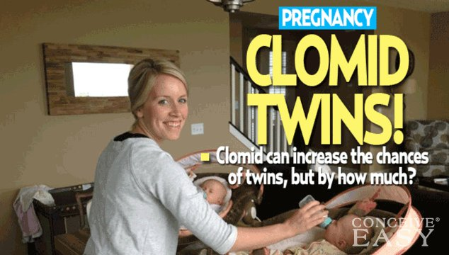 does clomid increase the chances of twins?