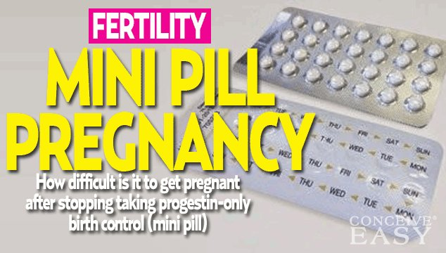 How Do I Get Pregnant after the Mini Pill?