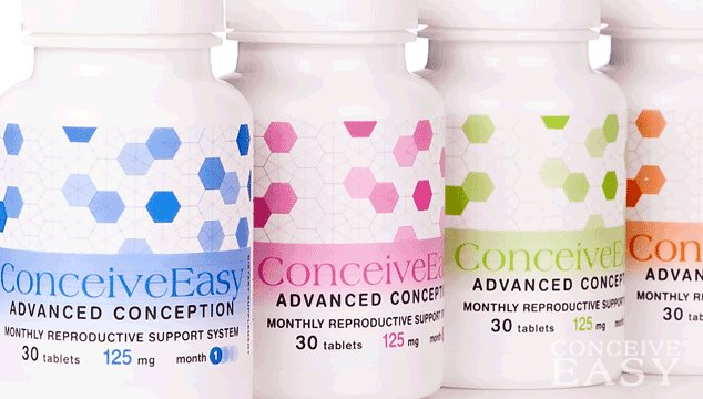 ConceiveEasy fertility blend to help get pregnant