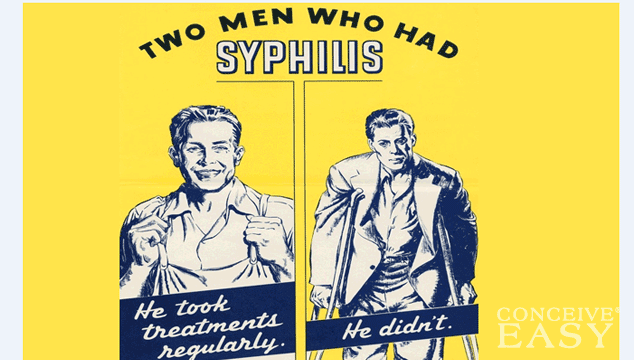 does syphilis cause infertility