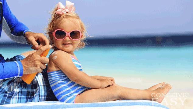 How to Treat Children's Sunburn