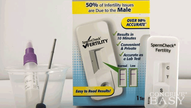 Determine Sperm Count with At-Home Test