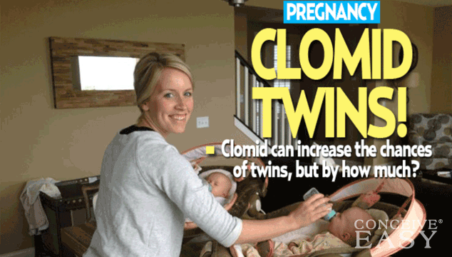 Clomid first time pregnant