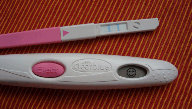 positive ovulation predictor kit result