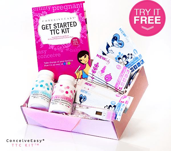 free opks via conceiveeasy TTC Kit