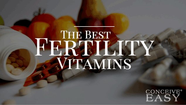 The Best Fertility Vitamins