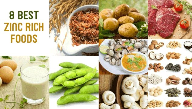 zinc-enriched foods for fertility