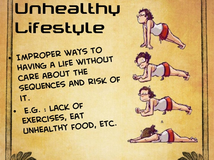 unhealthy lifestyle is the number one cause of infertility