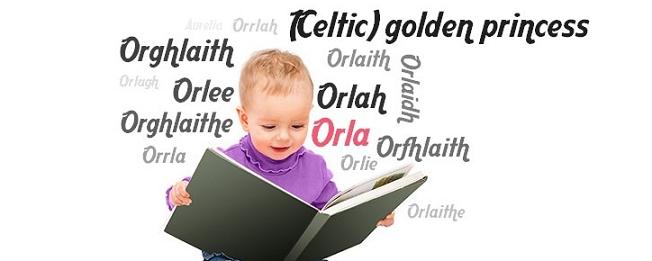 Top 20 Unique Baby Names 2018 - Orla