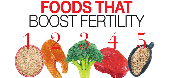 foods that boost fertility